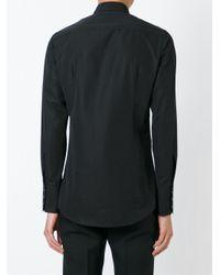 DSquared² Black Sequin Yoke Shirt for men