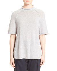 3.1 Phillip Lim | Natural Raglan Cutoff Sleeve Sweater | Lyst
