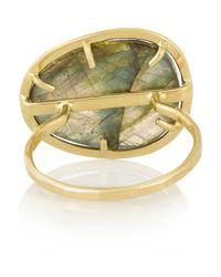 Melissa Joy Manning | Metallic 14-Karat Gold Labradorite Ring | Lyst