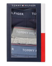 Tommy Hilfiger | Blue 3pk Solid Trunk for Men | Lyst