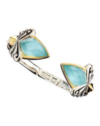 Stephen Webster | Baroque Blue Cat's Eye Bracelet | Lyst
