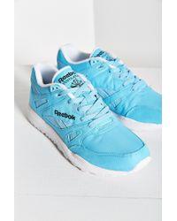 Reebok | Blue Ventilator Neon Running Sneaker | Lyst