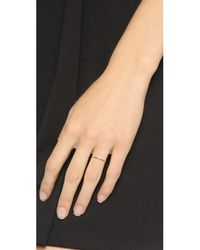 Blanca Monros Gomez | Metallic Thin Stacking Band Ring | Lyst