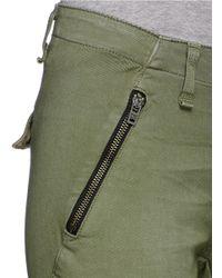 Rag & Bone Green 'bowery' Cargo Pants