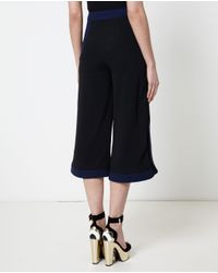 Peter Pilotto - Black Embellished Crepe Caddy Trousers - Lyst