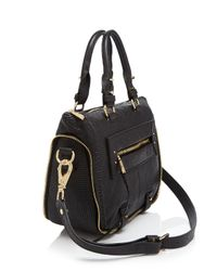 She + Lo Black Rise Above Mini Satchel