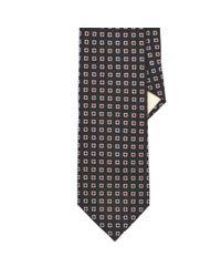 Polo Ralph Lauren - Black Neat Wool Challis Tie for Men - Lyst
