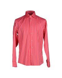 Brian Dales Pink Shirt for men