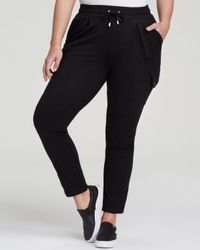 Pink Pony - Black Lauren Plus Drawstring Knit Pants - Lyst