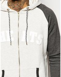 Cheats & Thieves - Gray College Hoodie for Men - Lyst