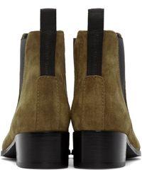 Acne Studios Brown Jensen Suede Chelsea Boots