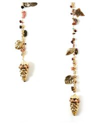 Rosantica | Metallic Gold-tone Pigne Acorn Necklace | Lyst