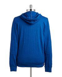 Lucky Brand | Blue Lightweight Henley Sweatshirt for Men | Lyst