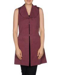 Marni - Purple Full-length Jacket - Lyst