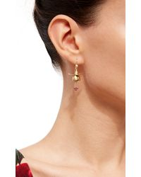 Annette Ferdinandsen | Metallic Fuschia Earrings | Lyst