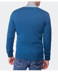 Vivienne Westwood - Blue Orb V-Neck Sweater for Men - Lyst