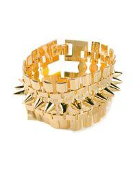Eddie Borgo | Metallic Legged Cone Bracelet | Lyst