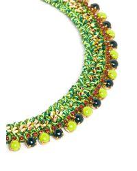 Venessa Arizaga Green 'hawaii 5-0' Necklace
