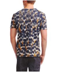 BOSS Orange - Blue 'timmoleo' | Cotton Printed T-shirt for Men - Lyst
