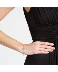 John Lewis - Blue 18ct Gold Semi Precious Stone Bracelet - Lyst