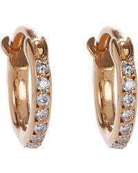 Ileana Makri | Metallic Huggie Hoop Earrings Size Na | Lyst