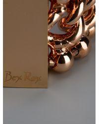 Bex Rox Metallic Gina Three Strand Bracelet
