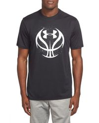 Under Armour | Black 'Future Icon' Graphic Performance T-Shirt for Men | Lyst