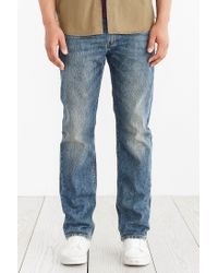 Levi's | Blue 513 Slim Straight Fit Jeans for Men | Lyst