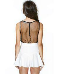 Nasty Gal | White Blair Shorts | Lyst