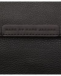 Marc By Marc Jacobs Black Classic Leather Messenger Bag for men