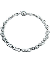 Links of London | Metallic Signature Sterling Silver Necklace | Lyst