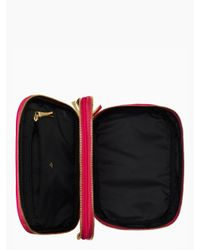 kate spade new york Pink Classic Nylon Travel Jewelry Case