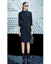 BOSS Black Dress With Peplum: 'dikyong'