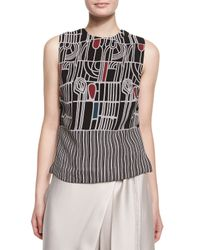 Maiyet - Multicolor Batik Side-button Shell Top - Lyst