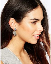 The 2 Bandits - Blue The 2bandits Table Mountain Earrings - Lyst
