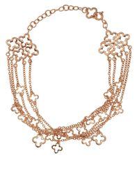 Dinny Hall Metallic Rose Gold Vermeil Talitha Bracelet