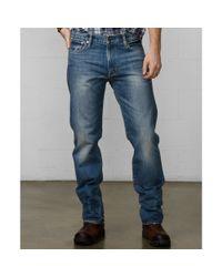 Denim & Supply Ralph Lauren Blue Straight-Cut Jeans for men