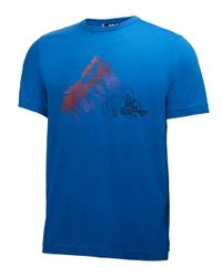 Helly Hansen | Blue Jotun Graphic T-shirt for Men | Lyst