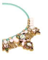 J.Crew - Multicolor Dragonfly Statement Necklace - Lyst