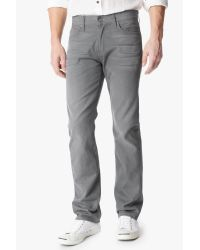 7 For All Mankind - Gray Standard Classic Straight for Men - Lyst