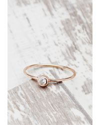 Forever 21 - Pink Shashi Solitaire Ring - Lyst