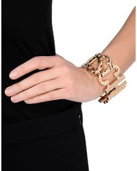 Moschino - Metallic Bracelet - Lyst