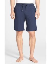 Derek Rose | Blue 'basel' Stretch Modal Lounge Shorts for Men | Lyst