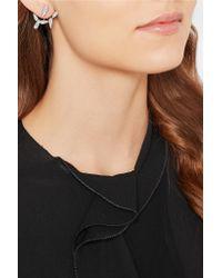 Yvonne Léon - Metallic Yvonne Léon 18-karat White Gold Diamond Earring - Lyst