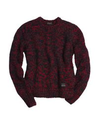 COACH Red X Blitz Cashmere-wool-mohair Tweed Sweater