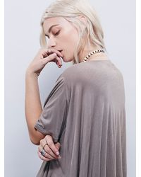 Free People | Natural Fp Beach Womens Emma Love Tee | Lyst