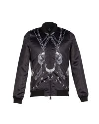 Marcelo Burlon - Black Jacket for Men - Lyst