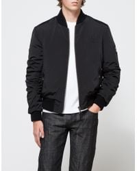 For In Jacket Black Bomber Lyst Quilted Stussy Men wqC8X
