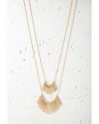 Forever 21 | Metallic Matchstick Charm Necklace Set You've Been Added To The Waitlist | Lyst