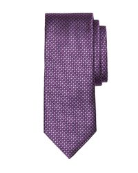 Brooks Brothers - Purple Houndscheck Tie for Men - Lyst